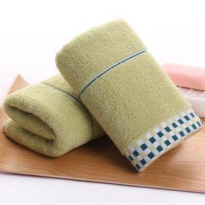 SERVIETTES DE BAIN STOEX® Lot de 2 Vert Serviettes de toilette de bai
