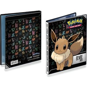 CARTE A COLLECTIONNER ASMODEE POKEMON - Cahier Range-Cartes Evoli - Capa