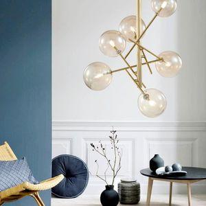 LUSTRE ET SUSPENSION Lampe Suspendue Luminaire Salon Personnalité Créat
