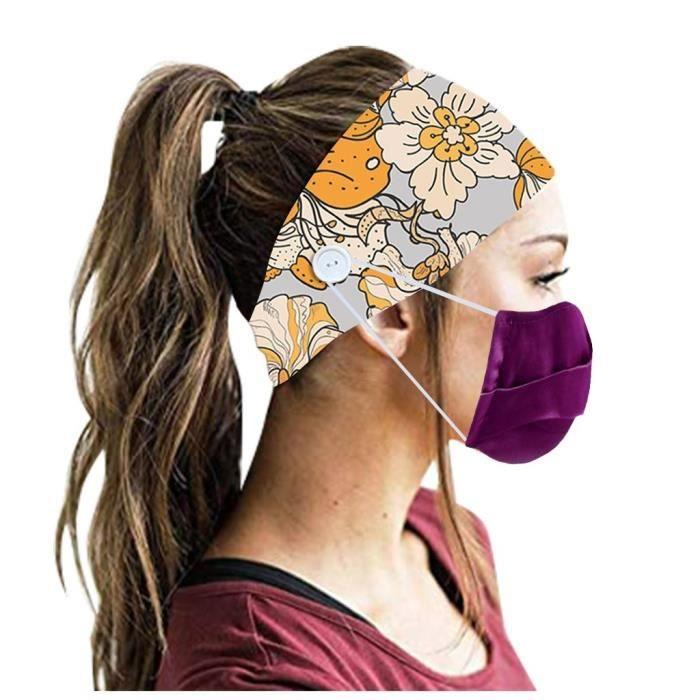 【HARNAIS DE TETE】Hommes Femmes Bandeau Bandeau Running Yoga Élastique Bandeau Cheveux Accessoires De Cheveux - Multicolore62