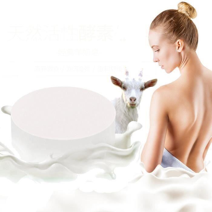 XY Purifier doux Lait de chèvre à la main Savon blanchissant peau lisse hydratant fine Pore - XYTNS903A3265