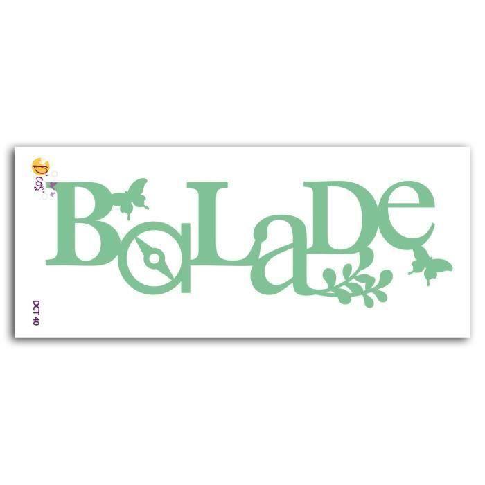 LES D'COS® DE TOGA Die Balade (Lot de 2)