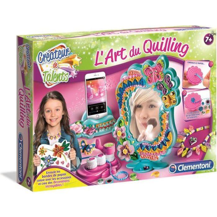 CLEMENTONI Créateur de talents - L'Art du quilling - Loisirs créatifs