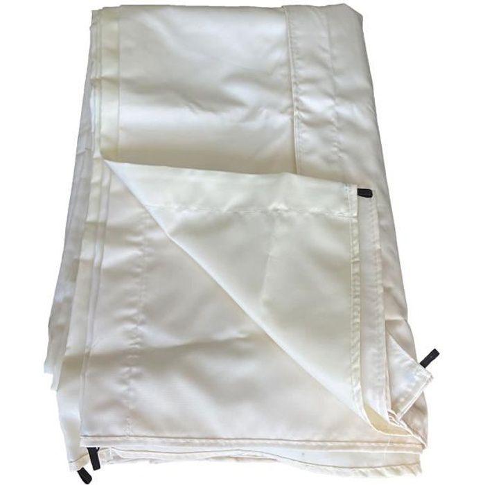 Toile pour pergola autoportante 3 × 4m CASSIS beige 3x4m Beige