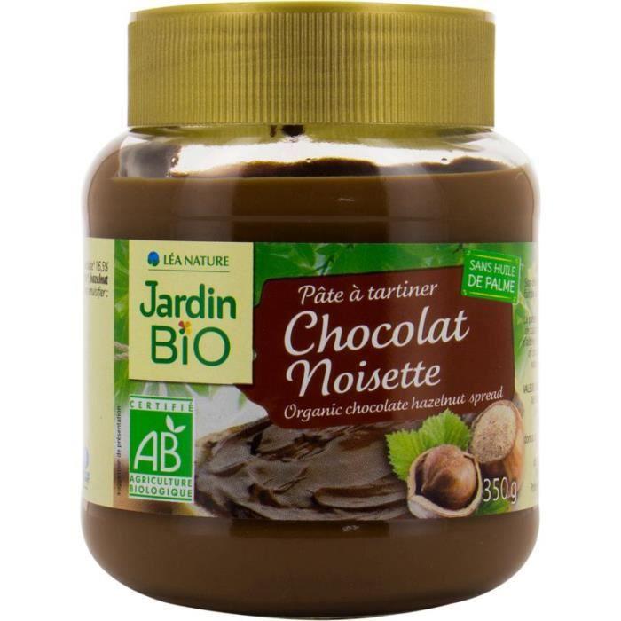 Pâte à tartiner cacao 350 g Jardin Bio