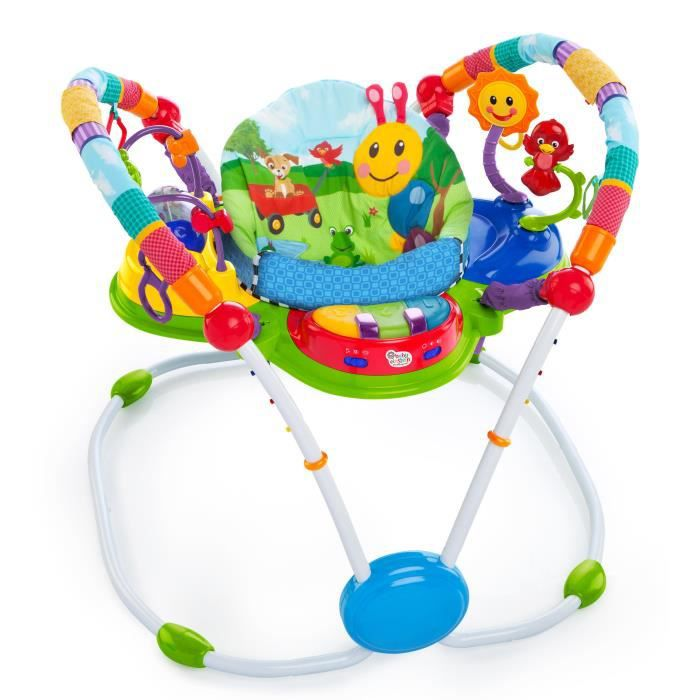BABY EINSTEIN Youpala évolutif Neighborhood Friends Activity Jumper - Multicolore