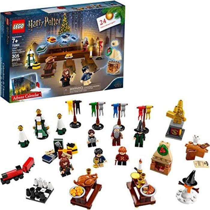 Jeu D'Assemblage LEGO GRCW0 Calendrier de l'Avent Harry Potter 75964 Kit de construction (35 pièces) (Discontinué par le fabricant)
