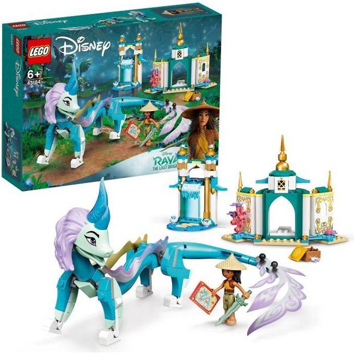 LEGO® 43184 Disney Princess Raya et Le Dragon Sisu du Film Disney Raya et Le Dernier Dragon Jouet pour Enfant de 6 Ans et +