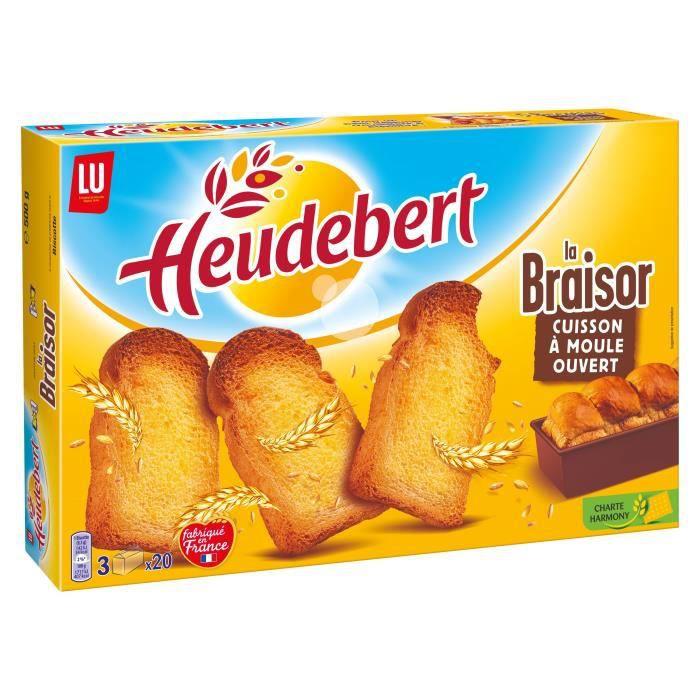 Biscottes Braisor Heudebert 60 Tranches 500G