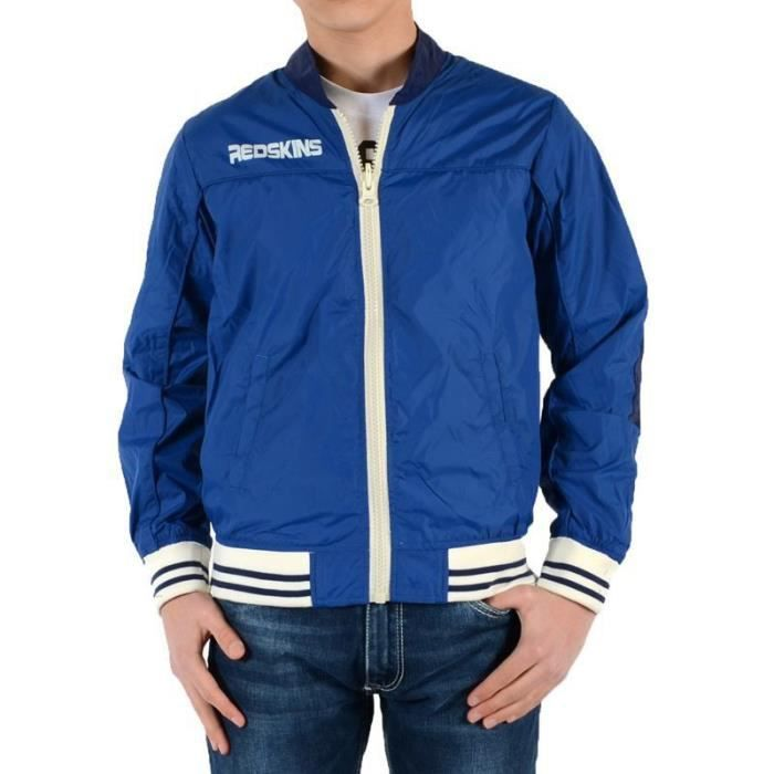 Blouson Redskins Junior Ben Reversible Off / Royal