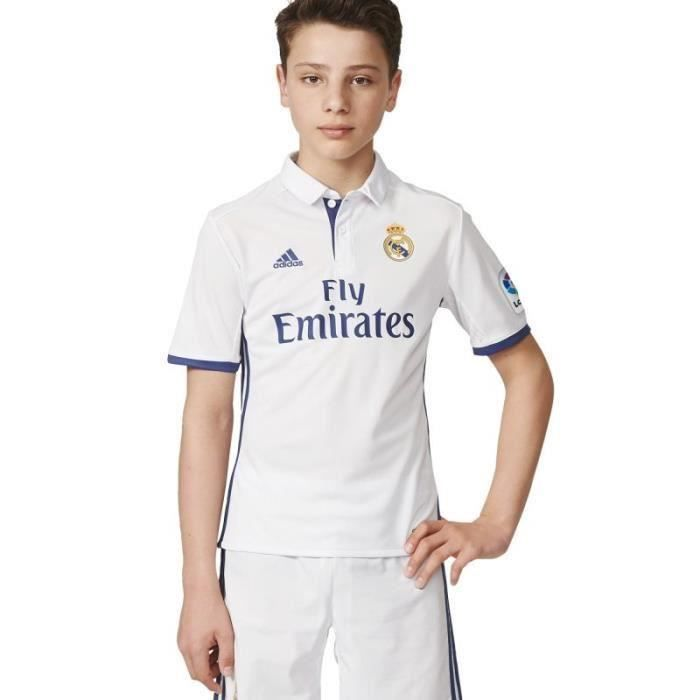 Adidas maillot football Real Madrid domicile 2016/2017 neuf taille enfant