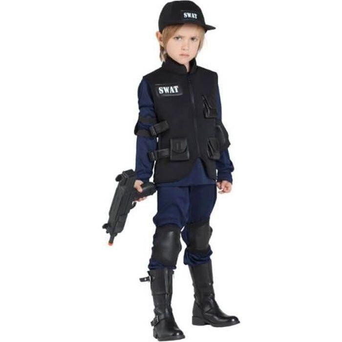 Déguisement de Police Swat pour enfant