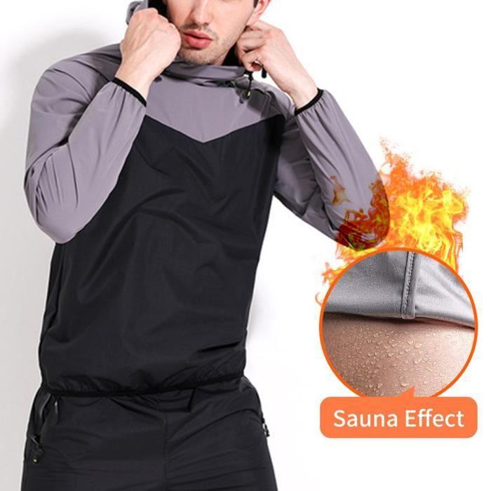 SURRNHAP - Fitness Sauna Suit Men - Survêtement fitness brûlant les graisses - Maleir - 62365235