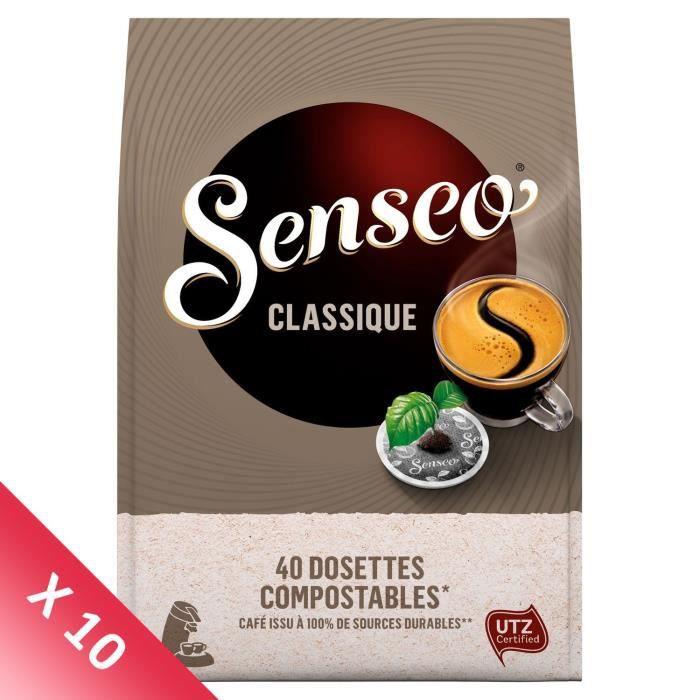 Senseo Café Classique - 400 dosettes (10 packs de 40)