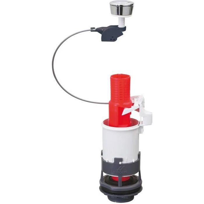 WIRQUIN Mécanisme de WC MD² - Simple poussoir à câble
