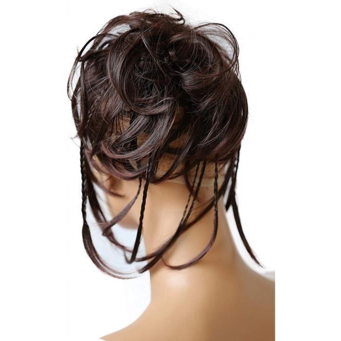 Extension Cheveux No1719 Xxl Postiche En Caoutchouc Chouchou Chignons Volumineux Boucles Ou Chignon Decoiffe Brun Fonce 2t33 G7d Achat Vente Perruque Postiche Extension Cheveux No1719 Xxl Cdiscount