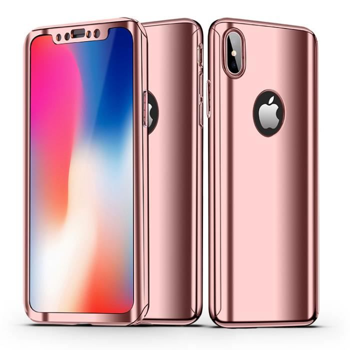 coque iphone xs max miroir antichoc coque iphone x