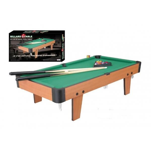 billard de table mini poser 80 x 42cm env achat vente billard billard de table. Black Bedroom Furniture Sets. Home Design Ideas