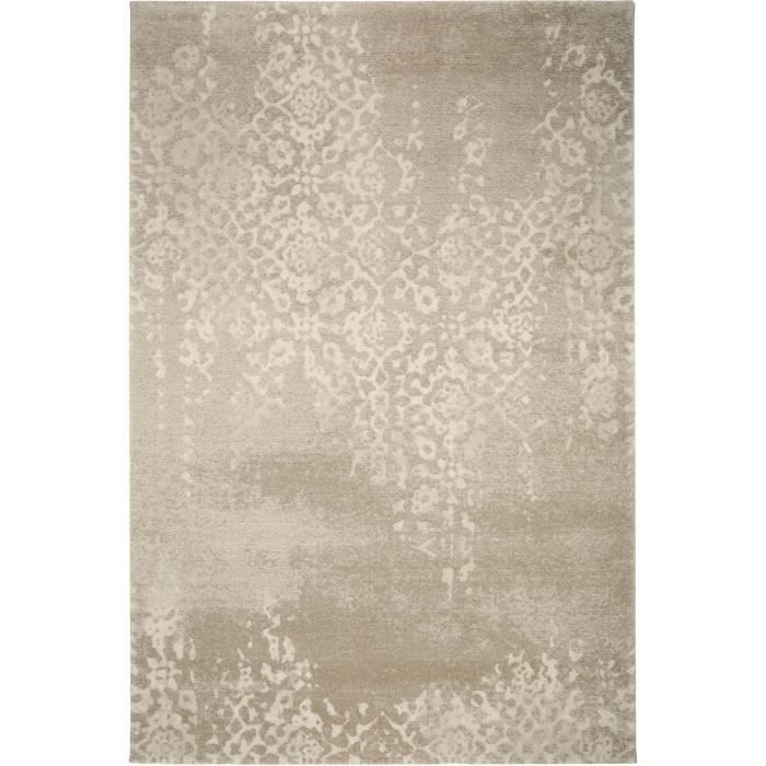 benuta tapis optimist lace taupe 120x170 cm achat vente tapis cdiscount. Black Bedroom Furniture Sets. Home Design Ideas
