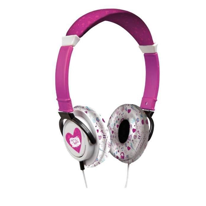 violetta casque audio giochi preziosi achat vente casque audio enfant cdiscount. Black Bedroom Furniture Sets. Home Design Ideas