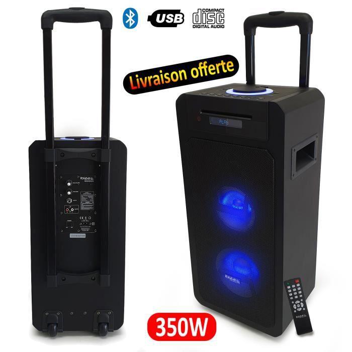 ENCEINTE ET RETOUR Enceinte autonome bluetooth à batterie Freesound35