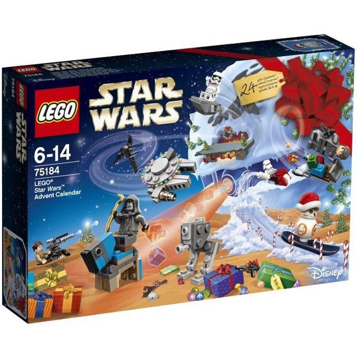 Lego Calendrier.Lego Star Wars 75184 Calendrier De L Avent