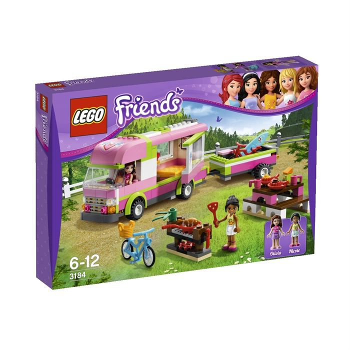lego friends le camping car achat vente assemblage. Black Bedroom Furniture Sets. Home Design Ideas