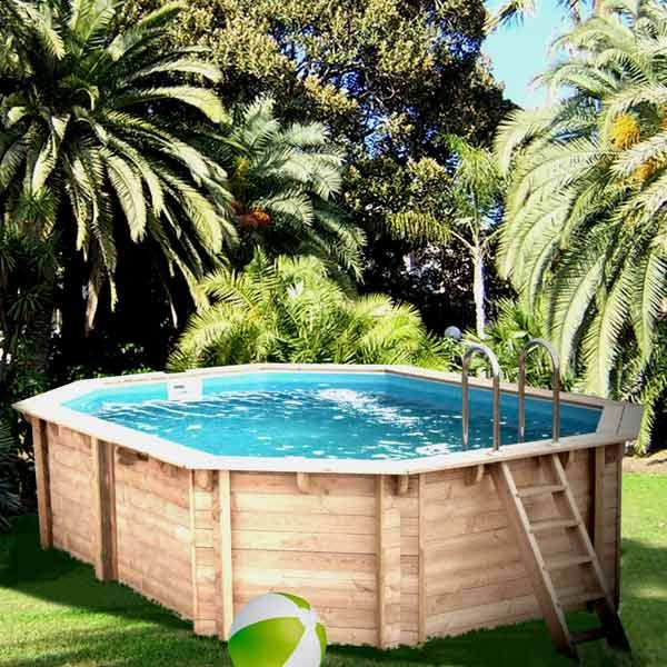 piscine en bois x x m soledad achat. Black Bedroom Furniture Sets. Home Design Ideas