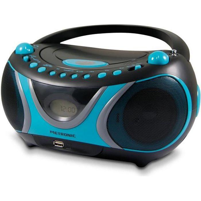 RADIO CD CASSETTE MET 477118 Radio CD-MP3 Sportsman