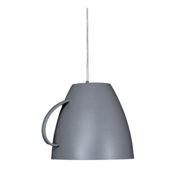 Lustre cuisine cafe latte gris achat vente lustre for Lustre ou suspension