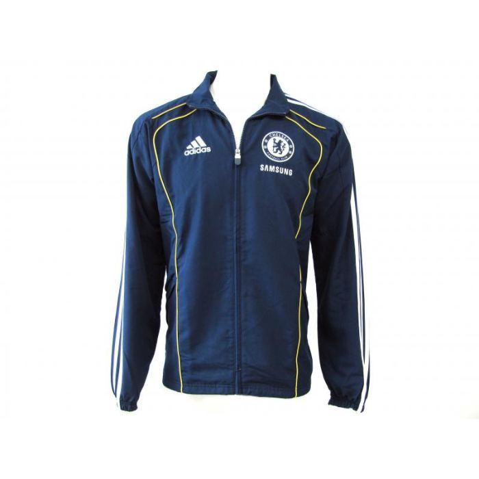veste survetement foot adidas chel bleu achat vente veste cache c ur cdiscount. Black Bedroom Furniture Sets. Home Design Ideas