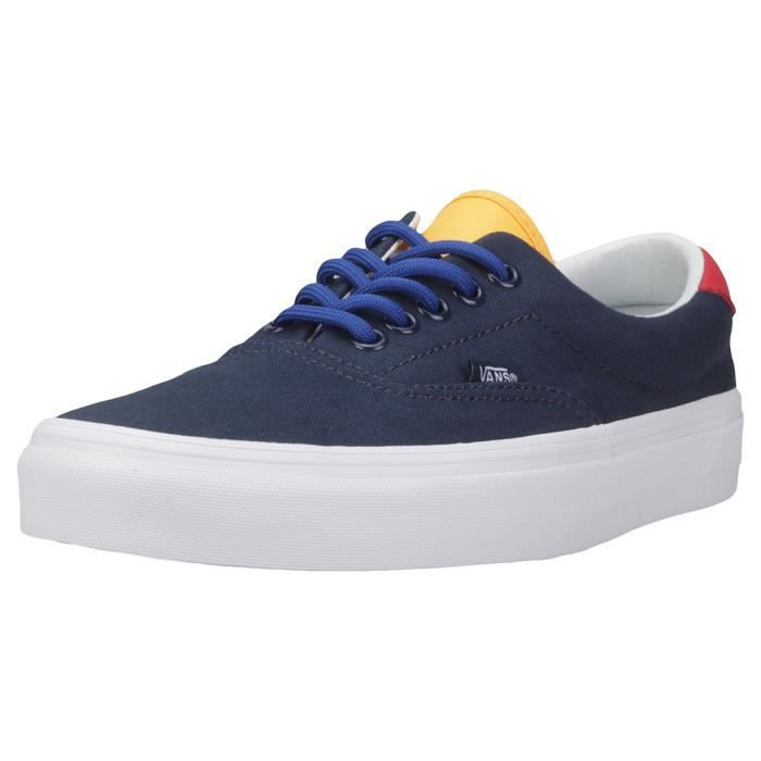 59 Blue Hommes Vans Uk 7 Dress Yacht Era Club Baskets Bleu SpZZxw