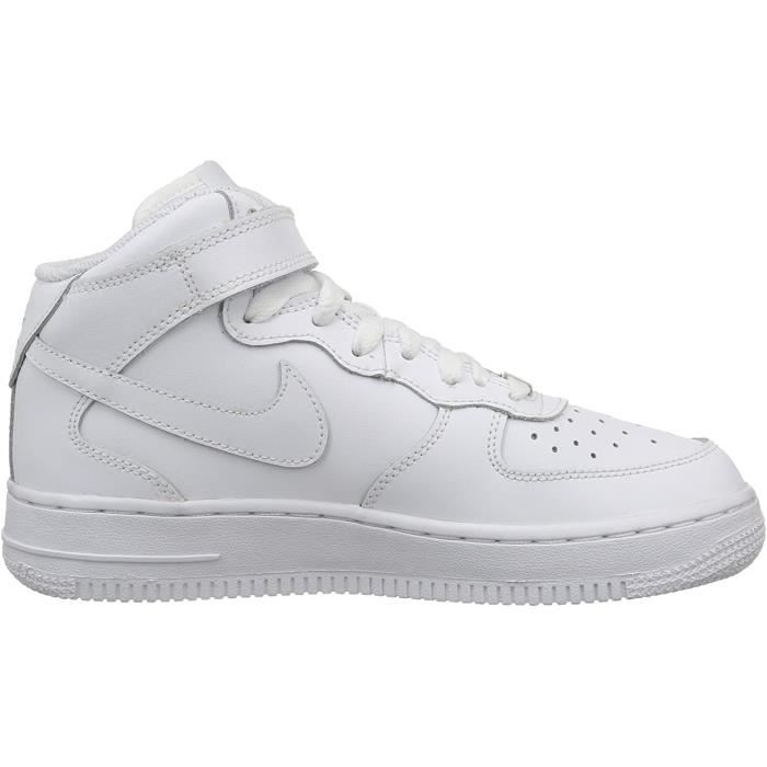 Basket Nike Air Force 1 High Blanche Homme AF1 Airforce One ...