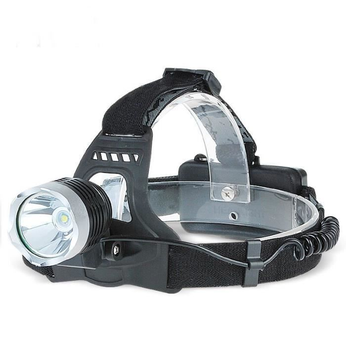 LAMPE DE POCHE Torche Frontale Rechargeable LED Etanche Ultra Pui