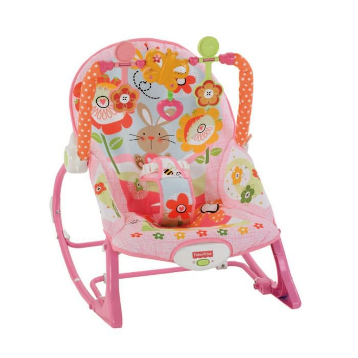 Fisher price transat evolutif rose rose achat vente transat balancelle fisher price for Chaise 4 en 1 fisher price