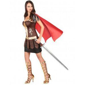 Les Adultes Déesse Grecque Costume Robe Fantaisie y compris Sandales Taille 16-18 Toge Party
