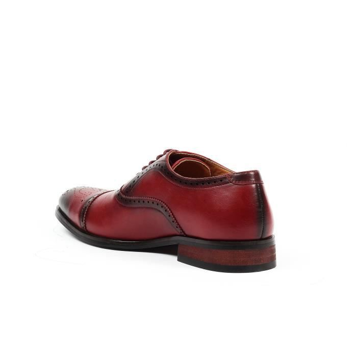 Gino Cap-toe Chaussures habillées Brogue BY4VW Taille-47