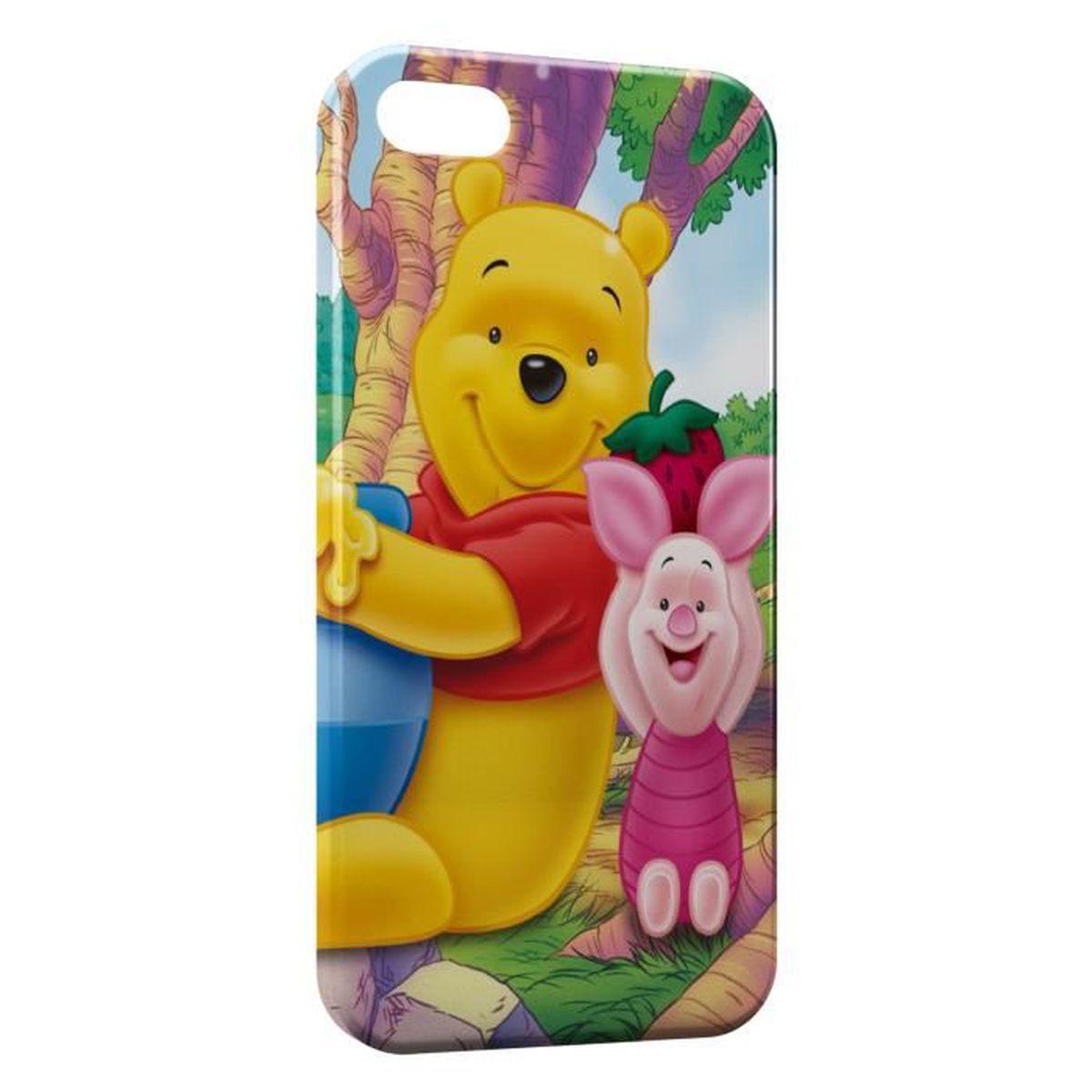coque iphone 6 plus winnie l ourson et porcine