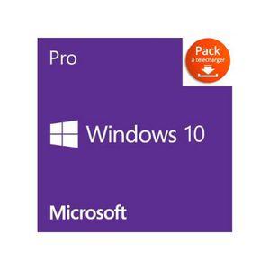 CLÉ USB Windows 10 Professionnel ( téléchargement)