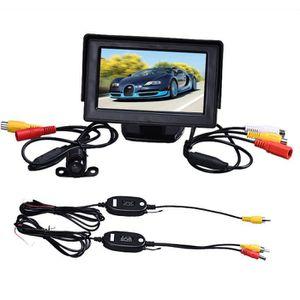 RADAR DE RECUL tenoens® 4,3 pouces TFT LCD Moniteur + voiture inv