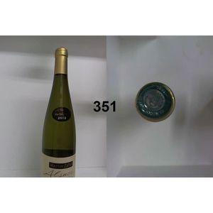 VIN BLANC Riesling - Martin Zahn 2012 - Casier : 351
