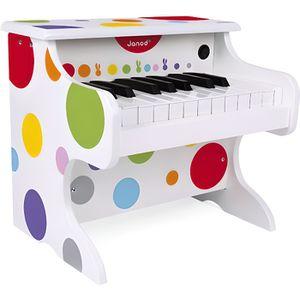 INSTRUMENT DE MUSIQUE Mon premier piano électronique (bois)