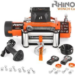 AUTO WINCH Treuil électrique Rhino 6125 kg - 12V - Câble