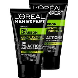 DÉMAQUILLANT NETTOYANT L'Oréal Men Expert Pur Charbon Gel Nettoyant Multi