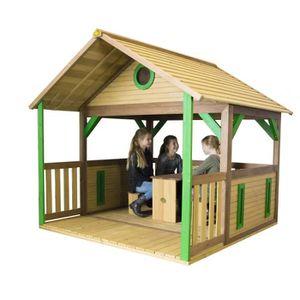 MAISONNETTE EXTÉRIEURE AXI maison enfant exterieur en bois  Zazou