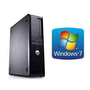 UNITÉ CENTRALE  DELL OPTIPLEX 755 - 4Go - 250Go - Windows 7