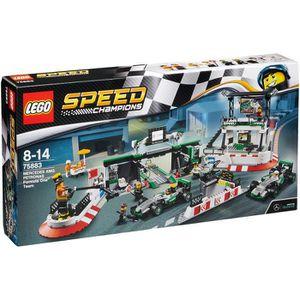 1 x LEGO ® 4207 pompiers chef jaune comme sur la photo.