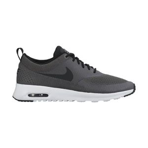 nike - air max thea - baskets - gris/rouge