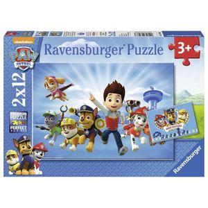 PUZZLE Ravensburger - 07586 - Lot de 2 Puzzles - Ryder et