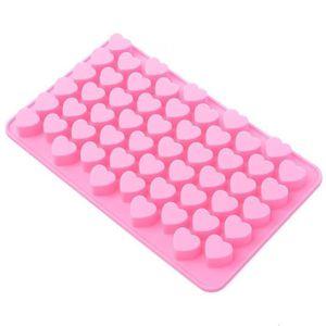 MOULE  Moule en silicone en forme de cœur pour chocolat-b